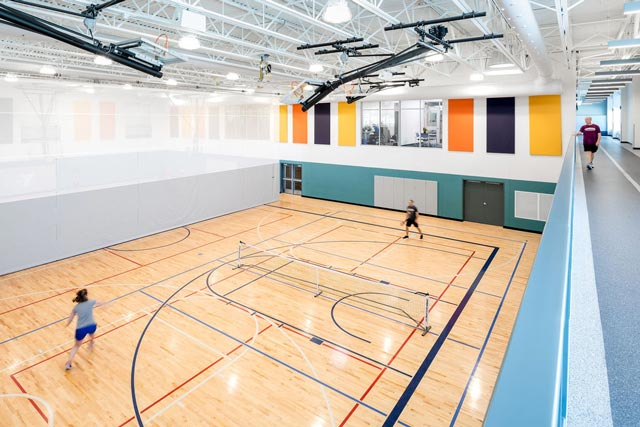Hermantown Wellness Center Gymnasium