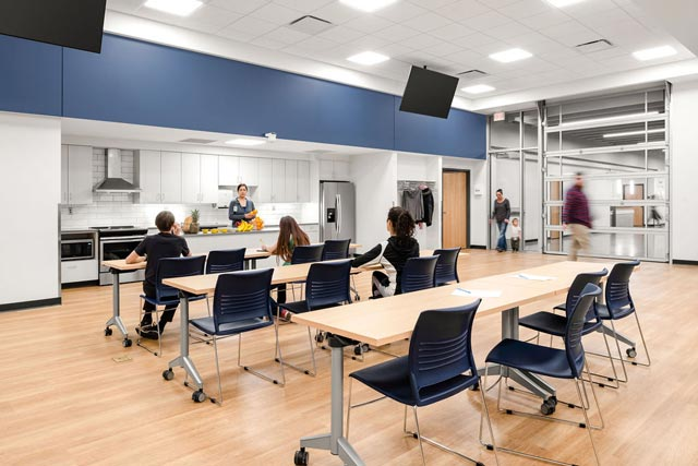 Hermantown Wellness Center multi-purpose classroom